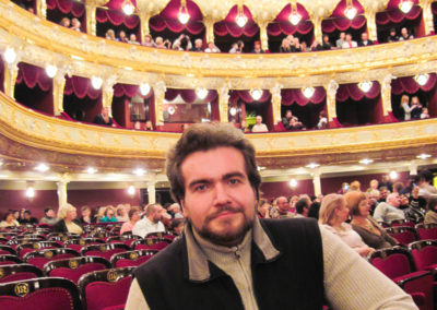 Opera Theater of Odessa, Ukraine