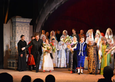 "After production of Rimsky-Korsakov's ""Tsars' Bride"", at National Music Academy of Ukraine"